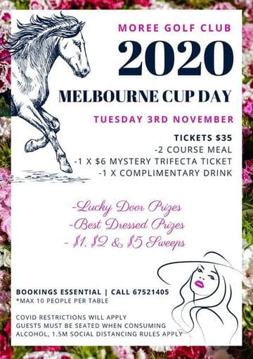 Moree Golf Club: Melbourne Cup Day