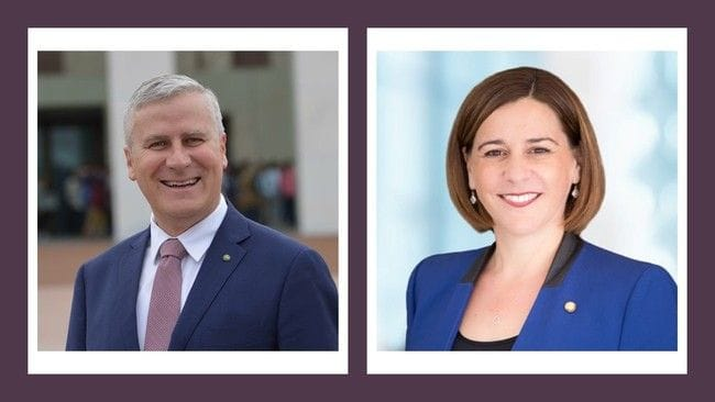 Business Lunch with Deputy Prime Minister Michael McCormack and State Opposition Leader Deb Frecklington at the Hilton