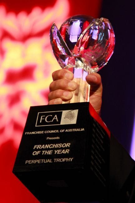 2011 Westpac FCA Excellence in Franchising Awards Winners Announced