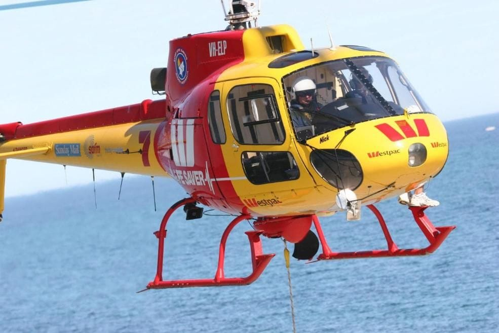 Westpac Rescue Helicopter Service Broadmeadow Base Tour