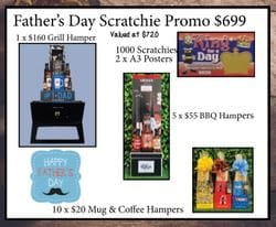 Fathers Day Scratchie Promo