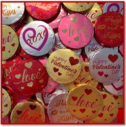 Valentine Day Medallions