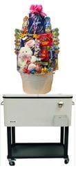 Easter Cooler Cart