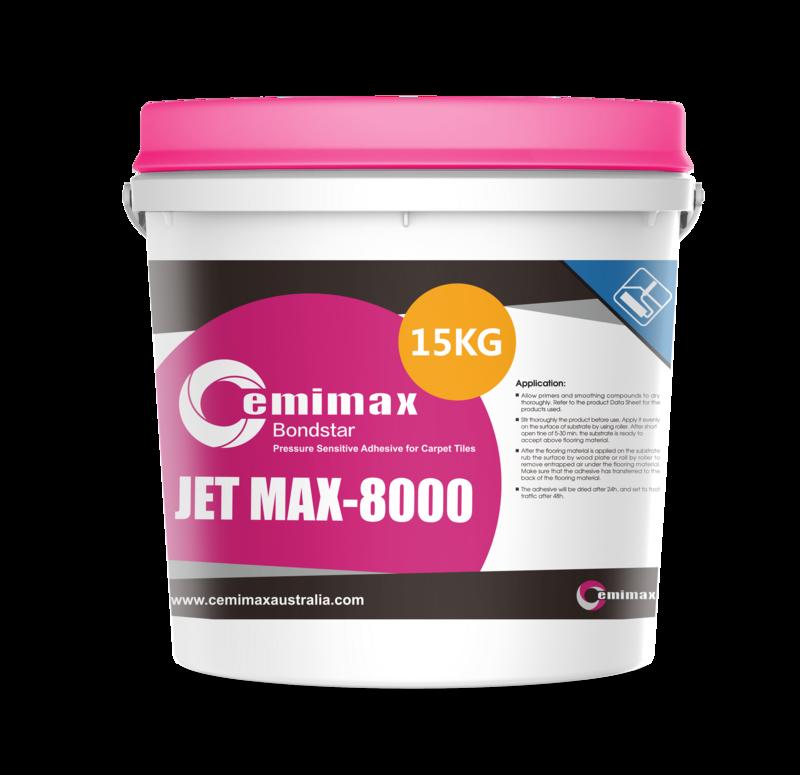 JET MAX-8000 Carpet Tile Adhesive