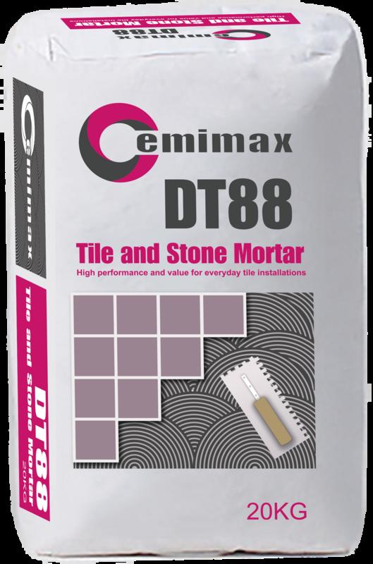 DT88 Tile & Stone Mortar