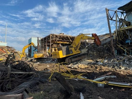 Fort Frances Mill demolition has begun