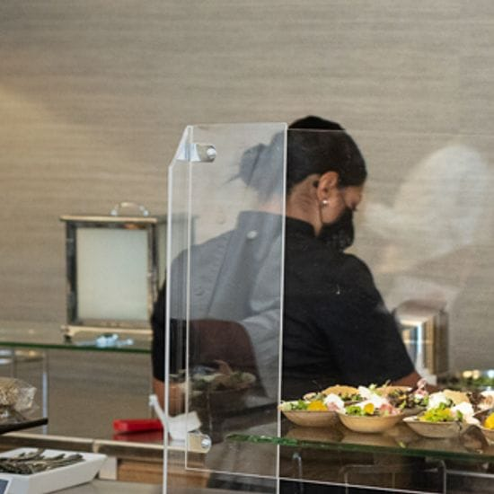 Individualized Food Service & Receptions