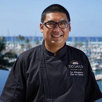 Executive Chef Joseph Almoguera