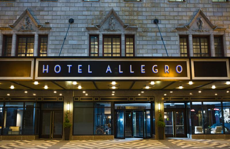 The Allegro Royal Sonesta Hotel Chicago Loop