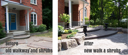 Before and After The Cutting Edge Landscaping