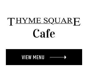 thyme square cafe menu