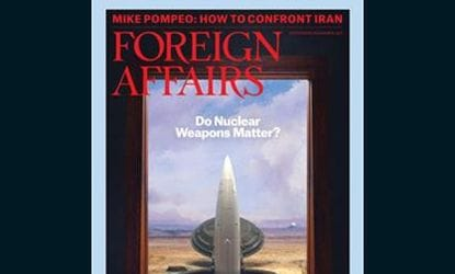 Foreign Affairs Magazine is optimistic about Australia's future and features APV.