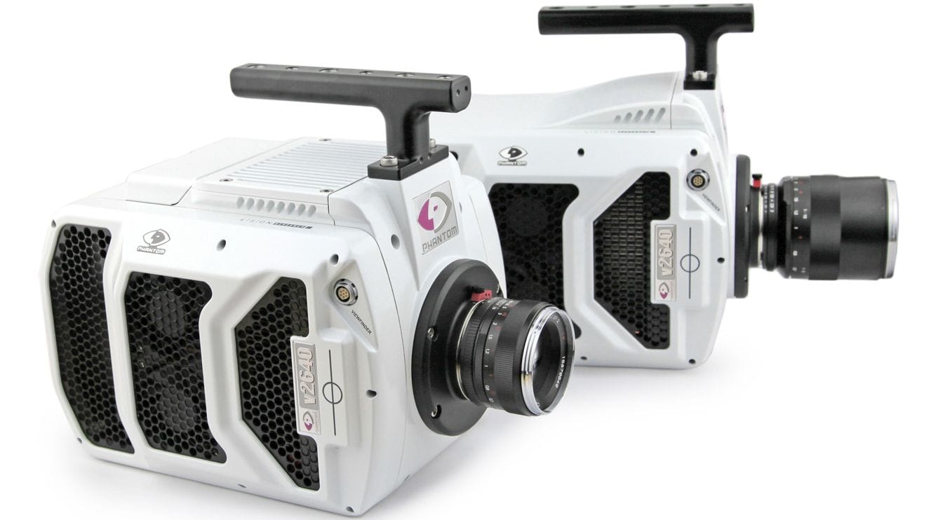 Phantom v2640 High-Speed Camera Hire