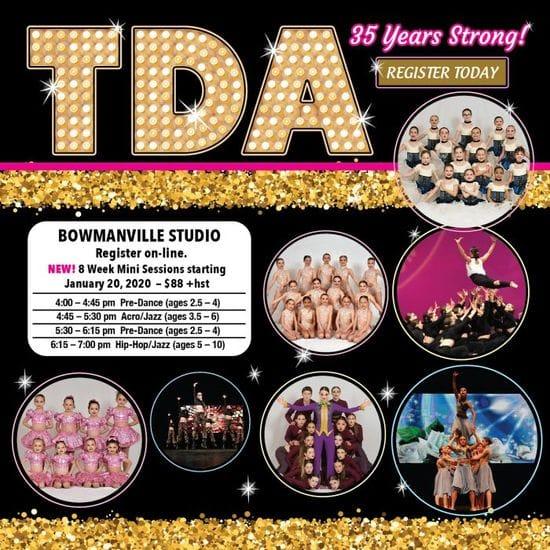8 week Dance Program 2020 only $88.00 CLICK