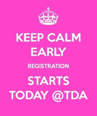 Early Registration