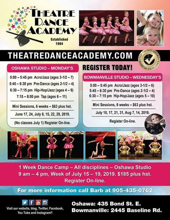 New DANCE PROGRAMS