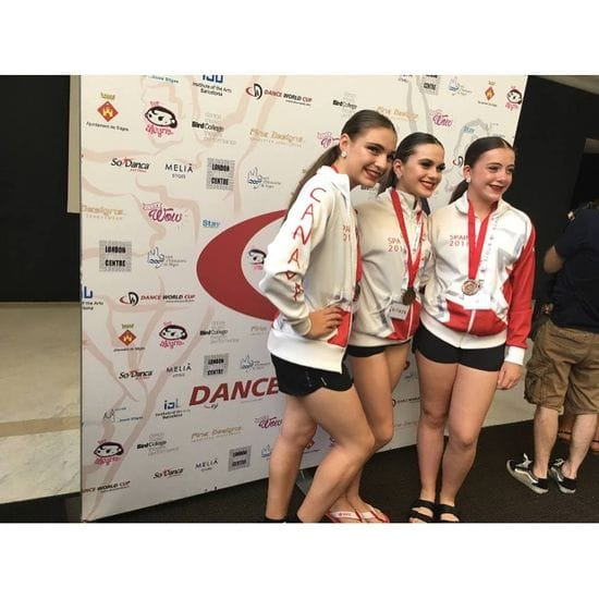 Congratulations to Jessica Azzopardi on receiving a bronze medal for her Tap trio in SPAIN