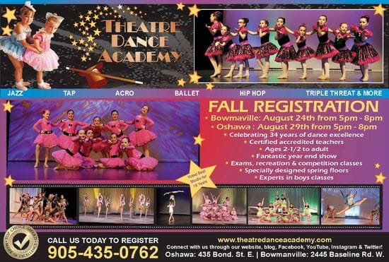 TDA dance for all ages call today 905 435 0762