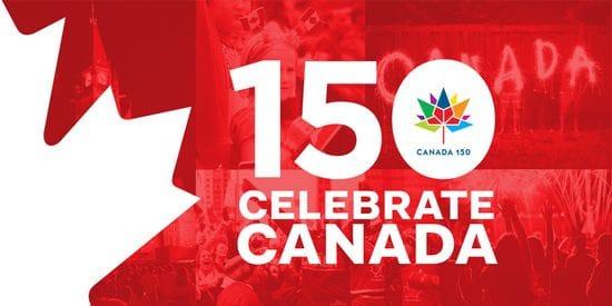 Happy CANADA DAY Celebrating 150