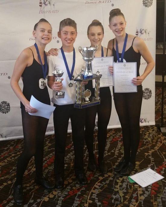 Congratulations to Matthew Azzopardi who won 1st Runner up in Junior Tap BATD!