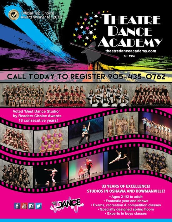 TDA Fall REGISTRATION DANCE call today 905 435 0762