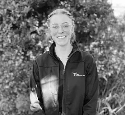 Abbey McHardy, Veterinary Science student at Highfields Vet Surgery