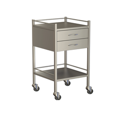 Two Drawer Instrument Trolleys