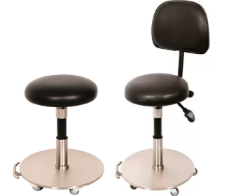 Medical Stool with Enclosed Base