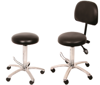 Medical Stool with Hydraulic Lift