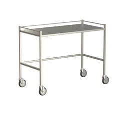 Large Instrument Trolley With Rails, Without Bottom Shelf 1200x600x900