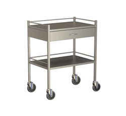 One Drawer Instrument Trolley 750x450x900