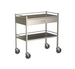 One Drawer Instrument Trolley 900x490x900