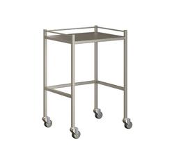 Small Instrument Trolley With Rails, Without Bottom Shelf 600x490x900