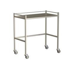 Small Instrument Trolley With Rails, Without Bottom Shelf 900x490x900