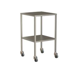 Small Instrument Trolley Without Rails, With Bottom Shelf 490x490x900