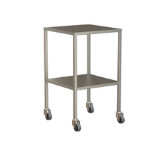 Small Instrument Trolley Without Rails, With Bottom Shelf 490x490x900