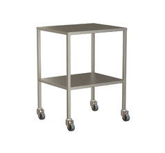 Small Instrument Trolley Without Rails, With Bottom Shelf 600x490x900
