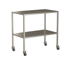 Small Instrument Trolley Without Rails, With Bottom Shelf 900x490x900