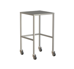 Small Instrument Trolley Without Rails, Without Bottom Shelf 490x490x900