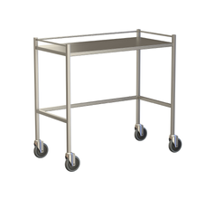 Large Instrument Trolley With Rails, Without Bottom Shelf 1000x490x900
