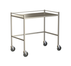 Large Instrument Trolley With Rails, Without Bottom Shelf 1000x600x900
