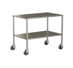 Large Instrument Trolley Without Rails, With Bottom Shelf 1000x600x900