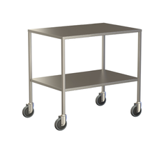 Large Instrument Trolley Without Rails, With Bottom Shelf 1200x600x900