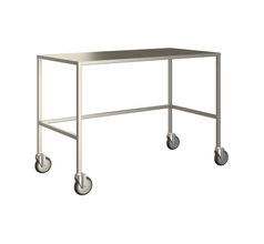 Large Instrument Trolley Without Rails, Without Bottom Shelf 1200x600x900