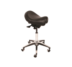Medical Stool Saddle Seat Hand Activated Gas Assisted