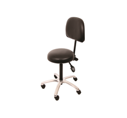 Medical Stool Hand Activated with Backrest Gas Assisted