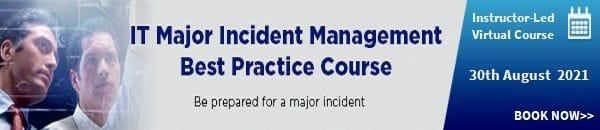 Major Incident Management Best Practice