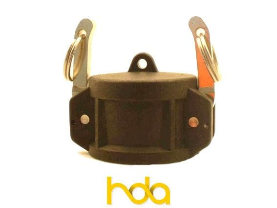Poly Type-Dc Camlock. Female Coupler Cap.