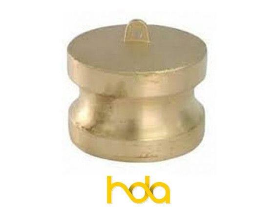 Brass Type-Dp Camlock. Male Adaptor Plug.