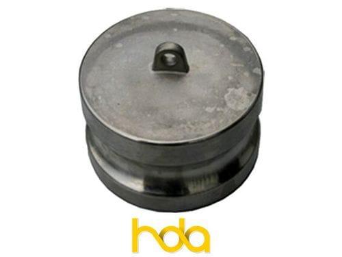 Stainless Steel Type-Dp Camlock. Male Adaptor Plug.